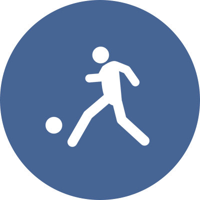 Small Soccer player Icon